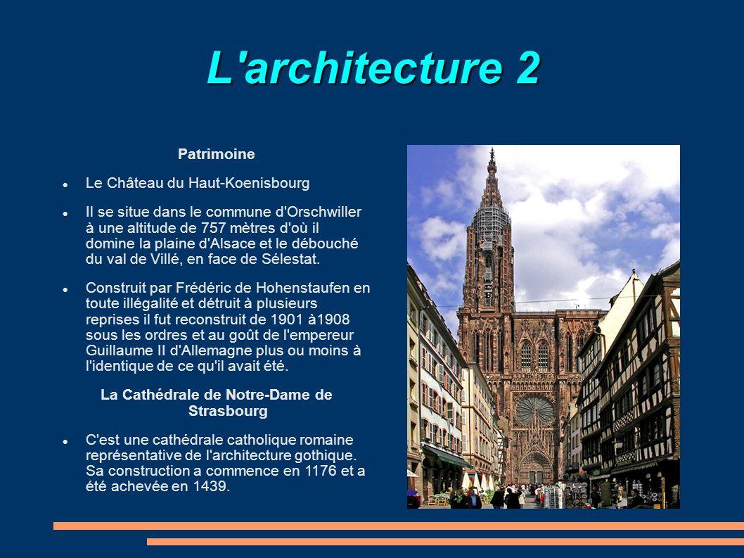 La Cathédrale de Notre-Dame de Strasbourg