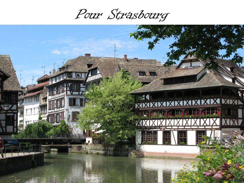 Pour Strasbourg