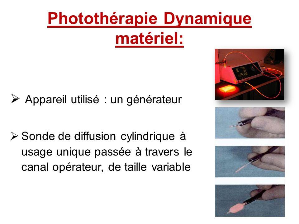 Photothérapie Dynamique matériel: