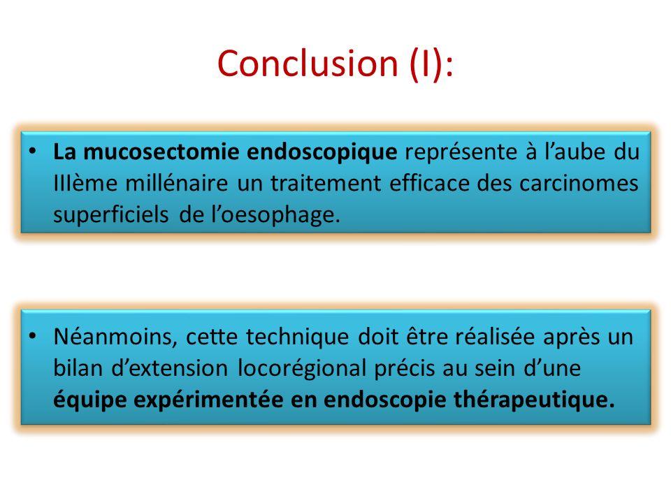 Conclusion (I):