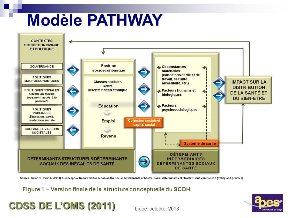Modèle PATHWAY CDSS DE L'OMS (2011)