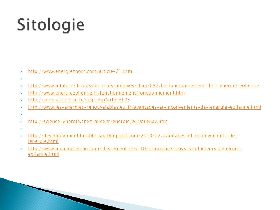 Sitologie http://www.energiezoom.com/article-21.htm