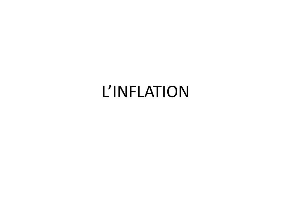L'INFLATION