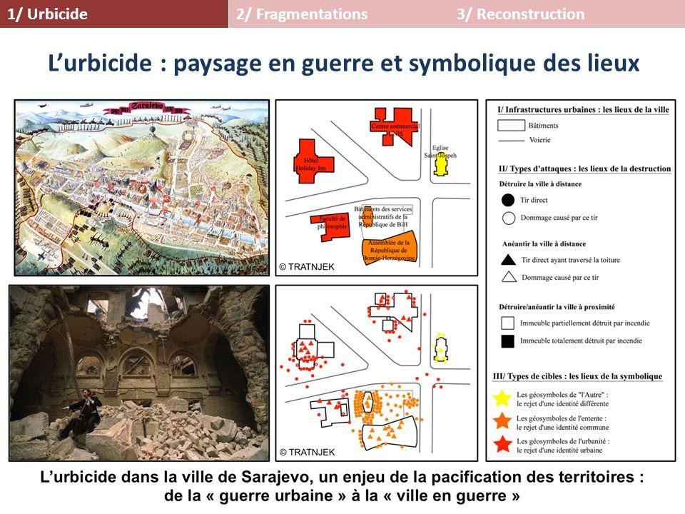 L'urbicide : paysage en guerre et symbolique des lieux