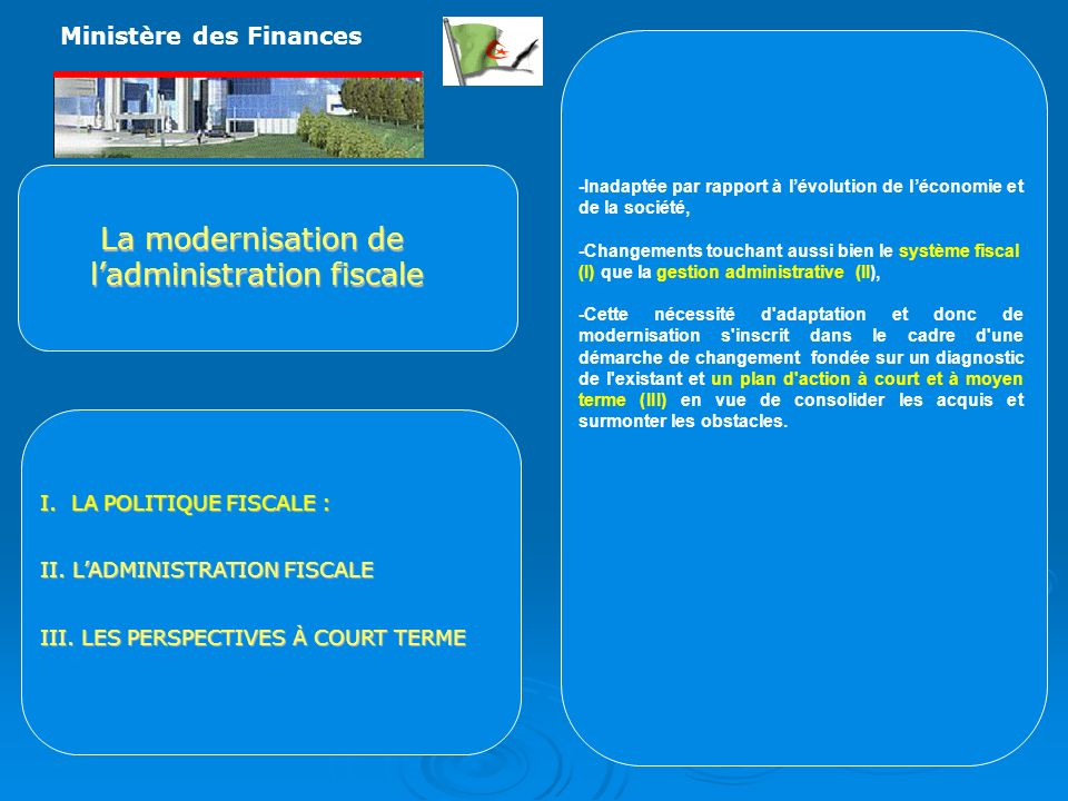 l'administration fiscale