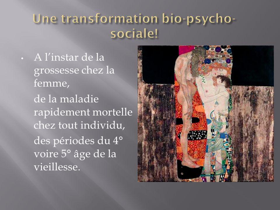 Une transformation bio-psycho-sociale!
