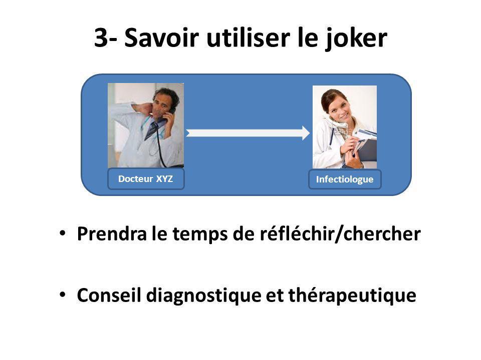 3- Savoir utiliser le joker