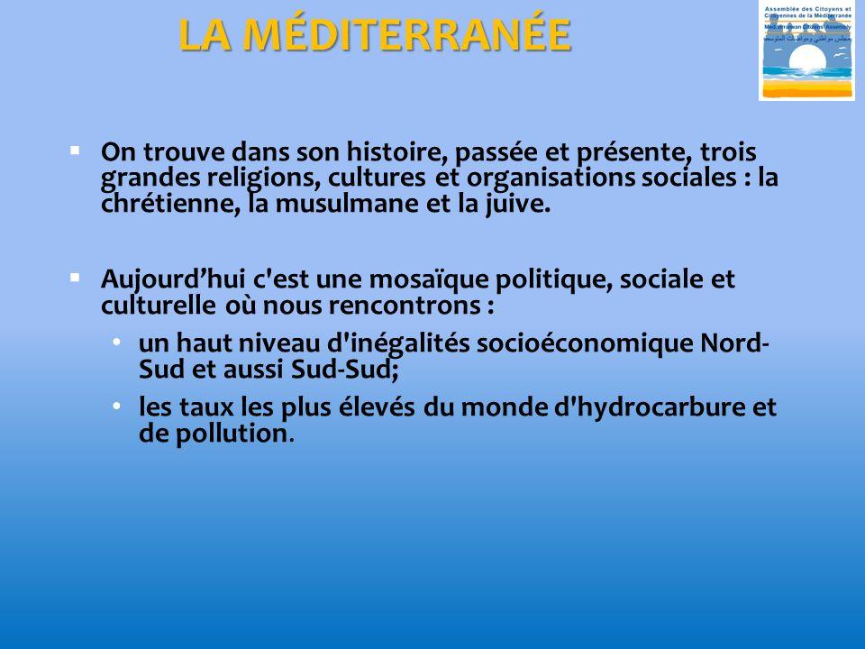 LA MÉDITERRANÉE ASSEMBLÉE DES CITOYENS ET CITOYENNES DE LA MÉDITERRANÉE(ACM) www.acimedit.net - contact@acimedit.net.