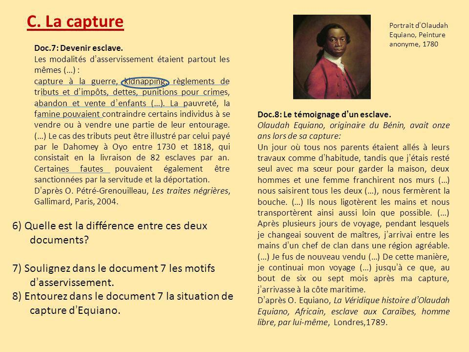 Th me 3 les traites n gri res et l esclavage - Difference entre droit de passage et servitude ...