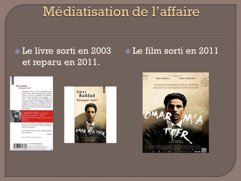 Médiatisation de l'affaire