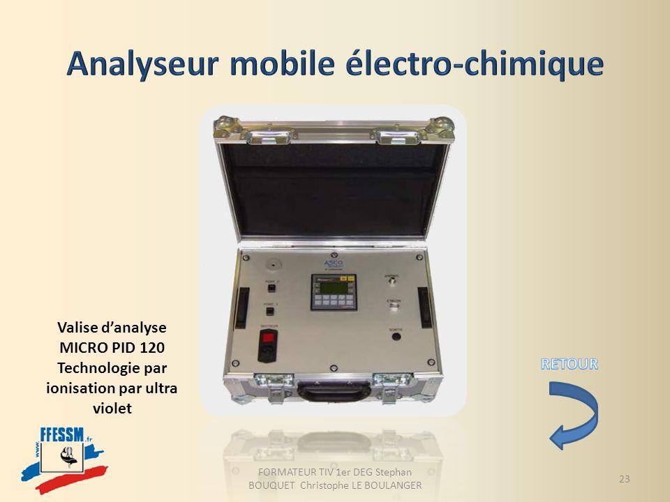 Analyseur mobile électro-chimique