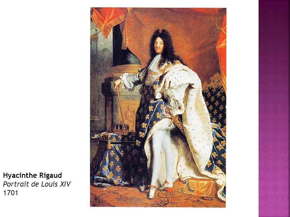Hyacinthe Rigaud Portrait de Louis XIV 1701