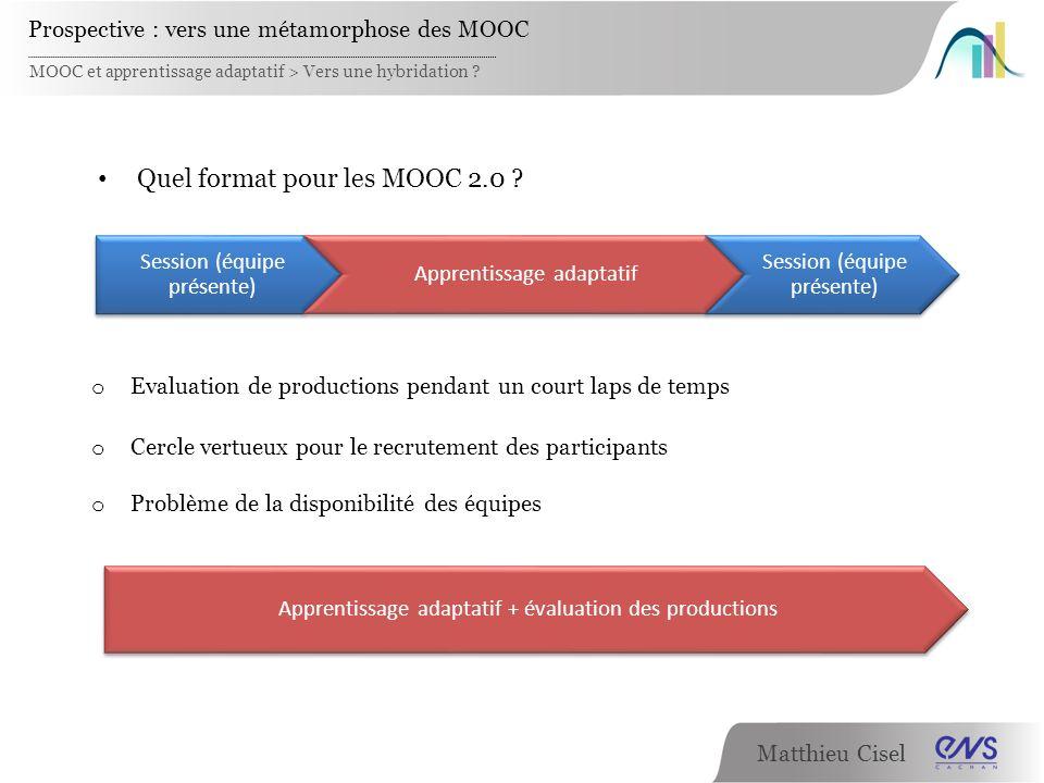 Quel format pour les MOOC 2.0
