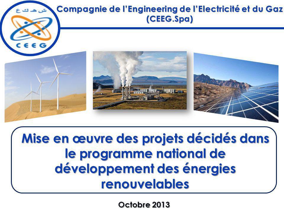 Compagnie de l'Engineering de l'Electricité et du Gaz (CEEG.Spa)