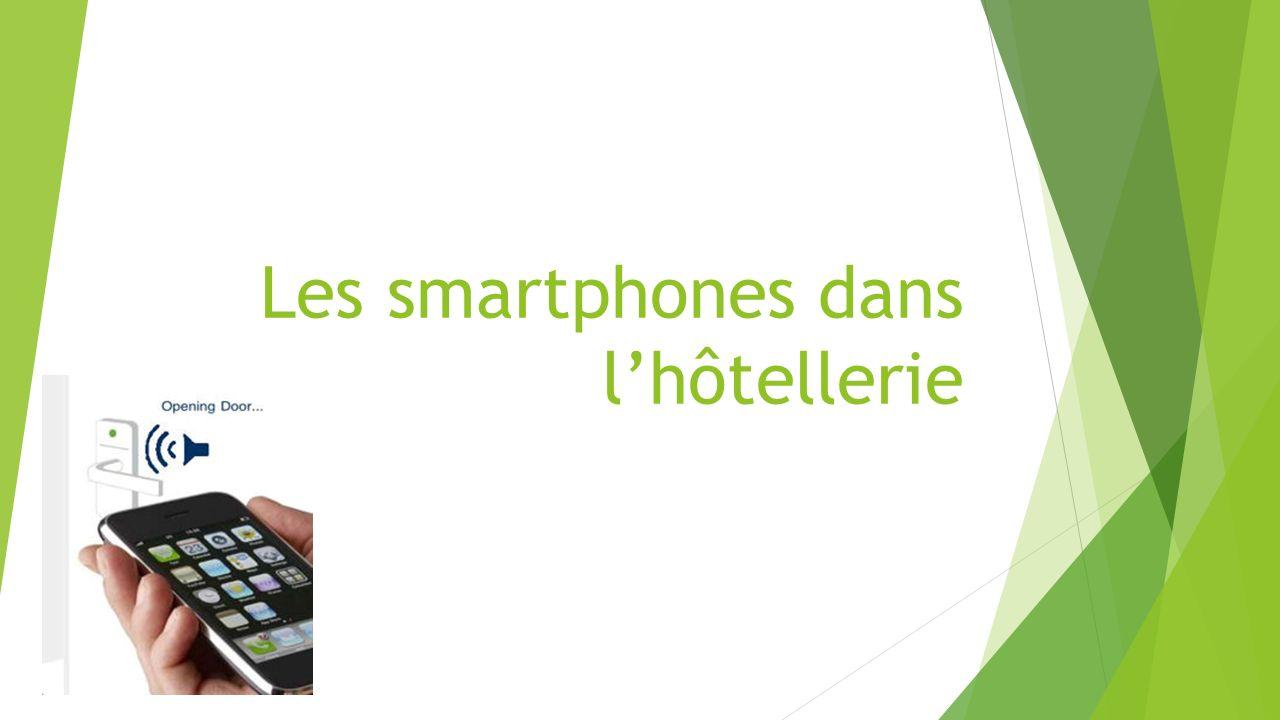 Les smartphones dans l'hôtellerie