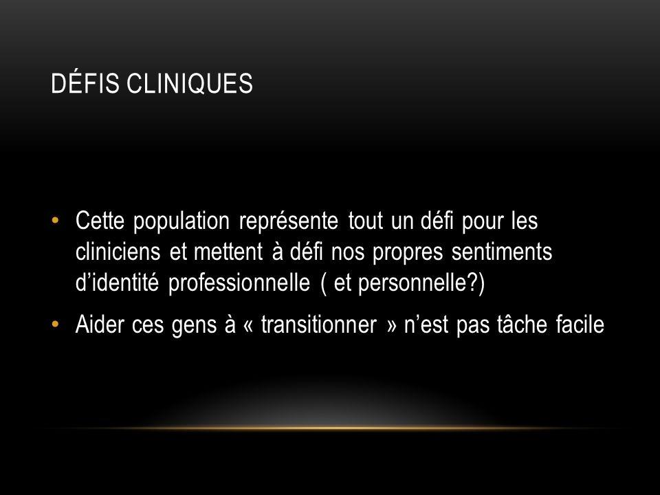 Défis cliniques
