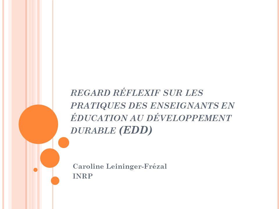 Caroline Leininger-Frézal INRP