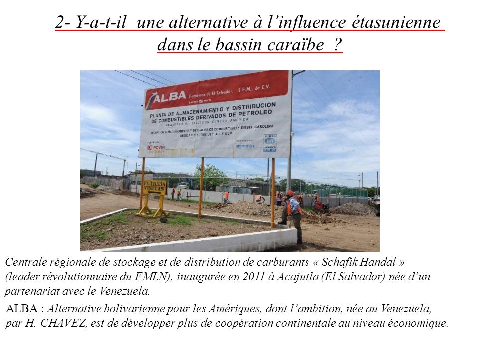 2- Y-a-t-il une alternative à l'influence étasunienne