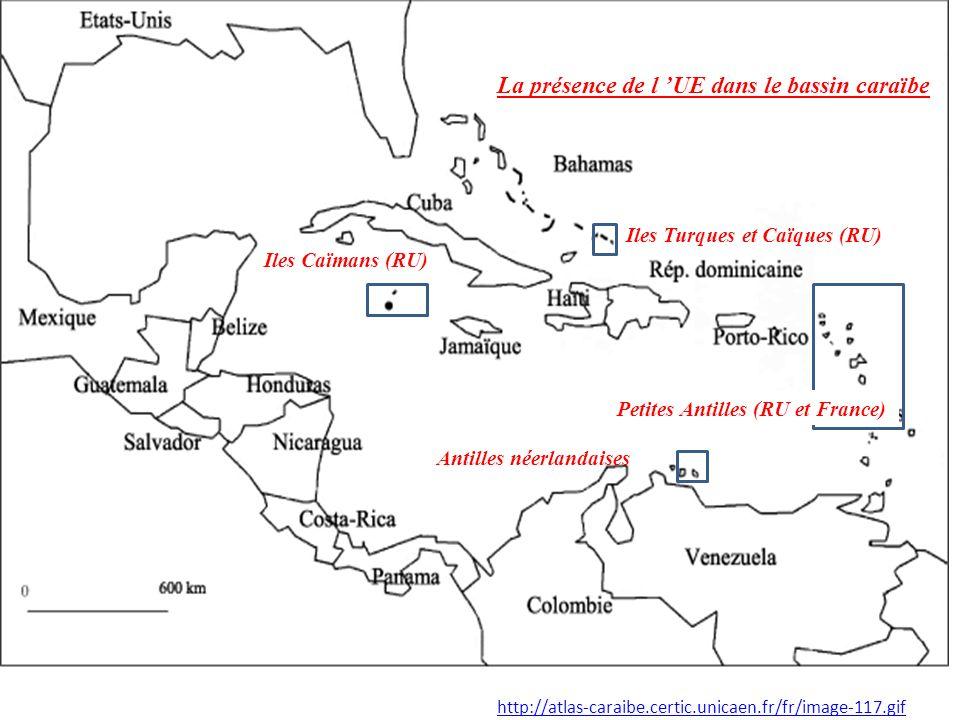 La présence de l 'UE dans le bassin caraïbe