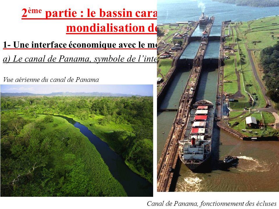 2ème partie : le bassin caraïbe, un espace de la mondialisation des échanges