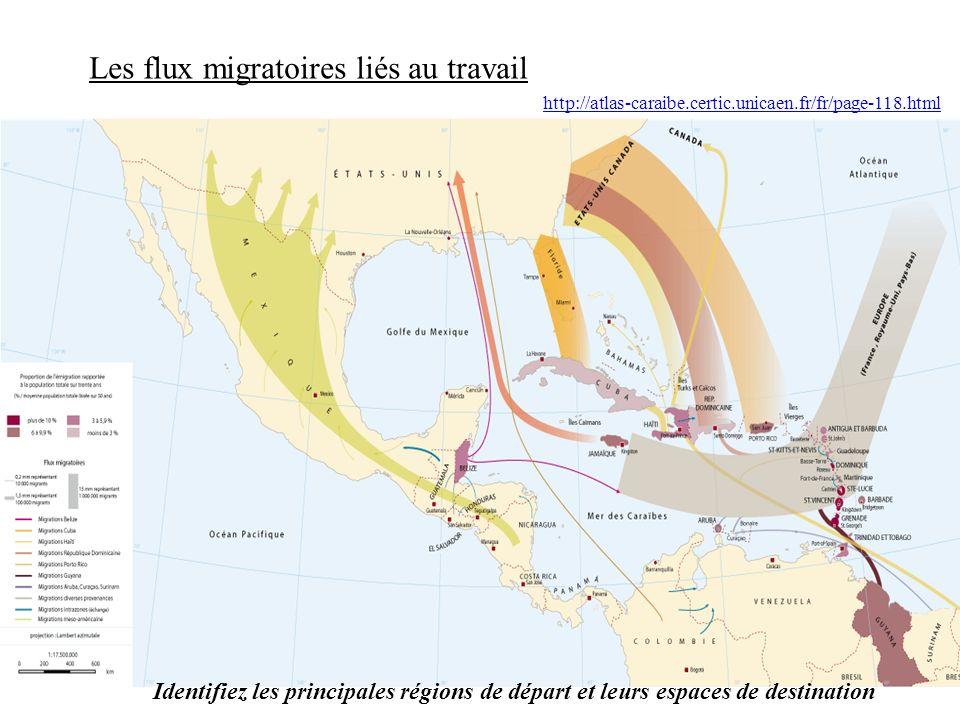 Les flux migratoires liés au travail