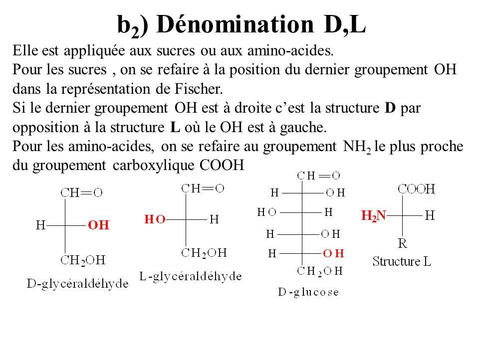 b2) Dénomination D,L