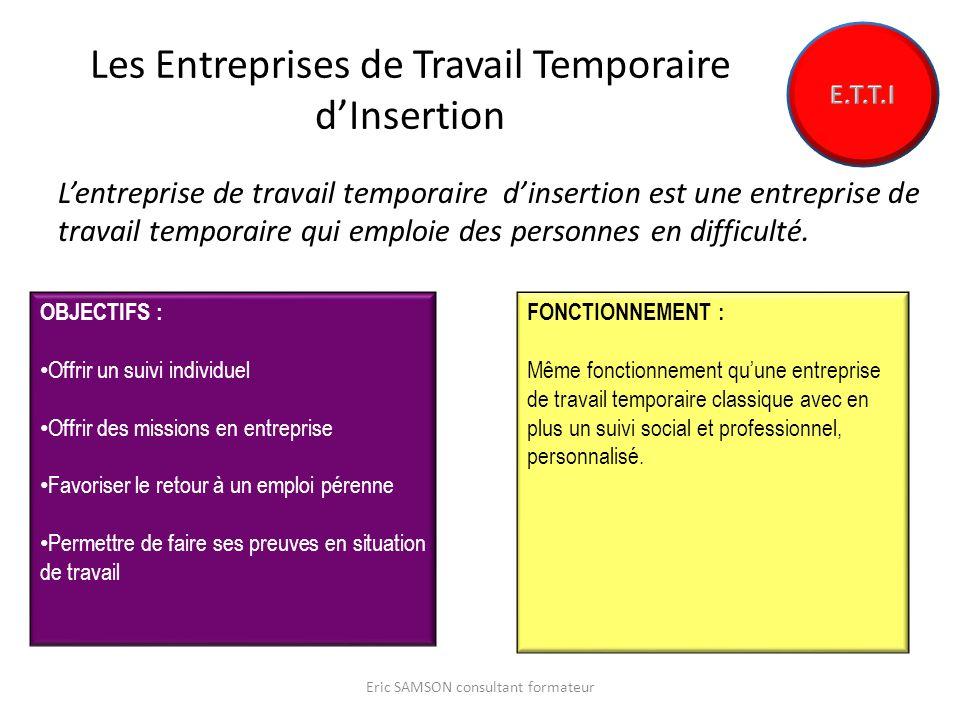 Les Entreprises de Travail Temporaire d'Insertion