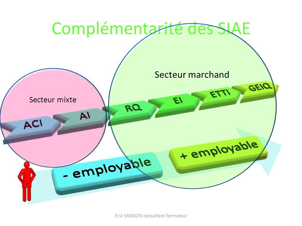 Complémentarité des SIAE