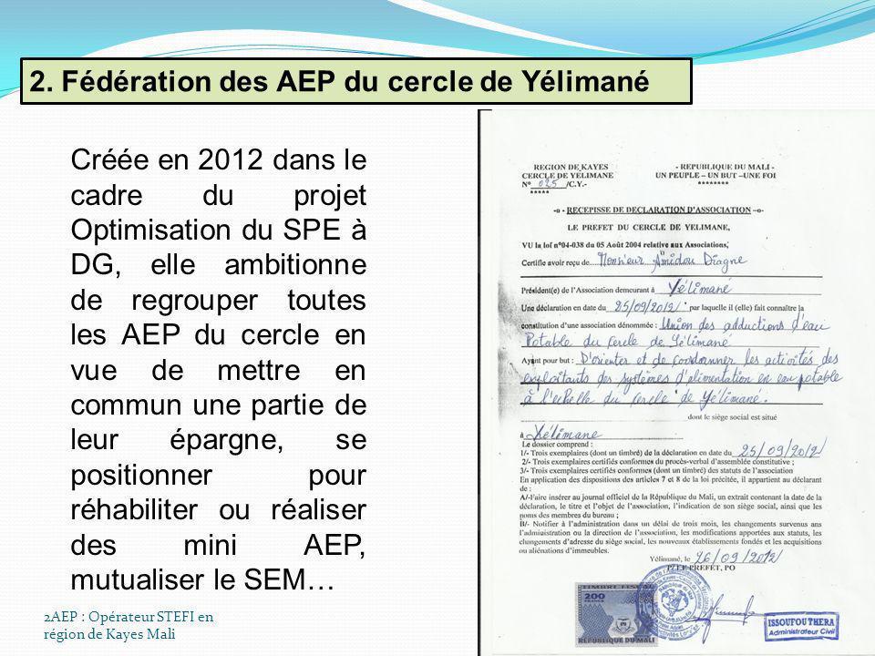 2. Fédération des AEP du cercle de Yélimané