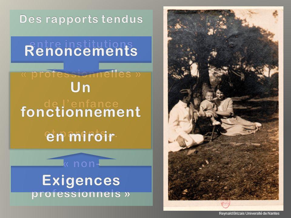 « non-professionnels » Un fonctionnement en miroir