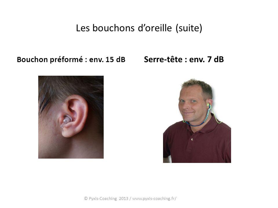 Les bouchons d'oreille (suite)