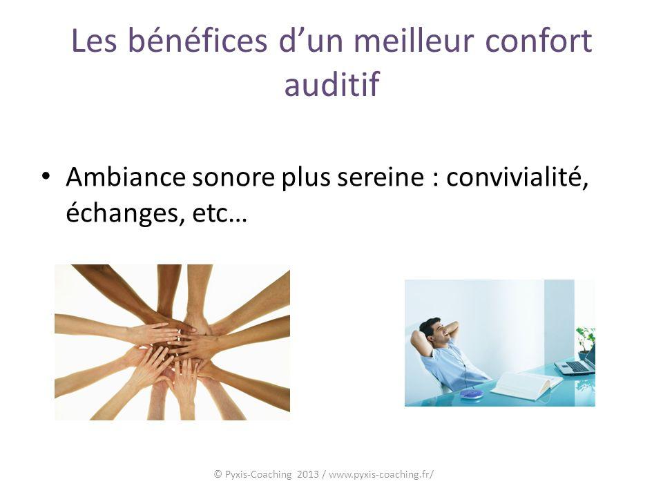 Les bénéfices d'un meilleur confort auditif
