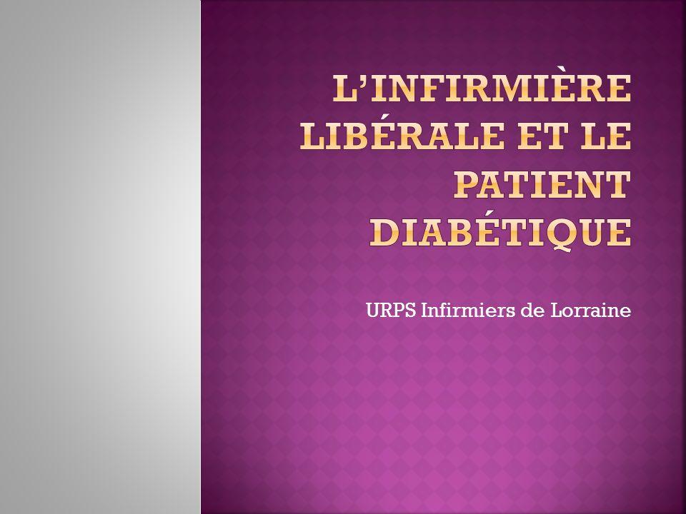 L'infirmière libérale et le patient diabétique