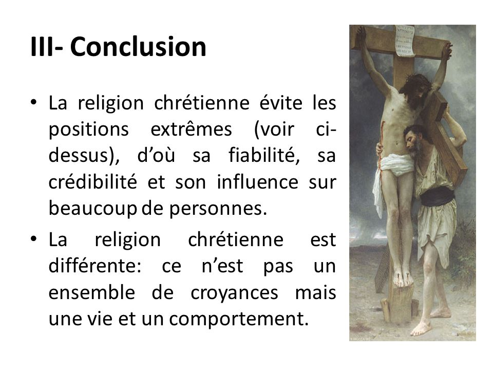 III- Conclusion