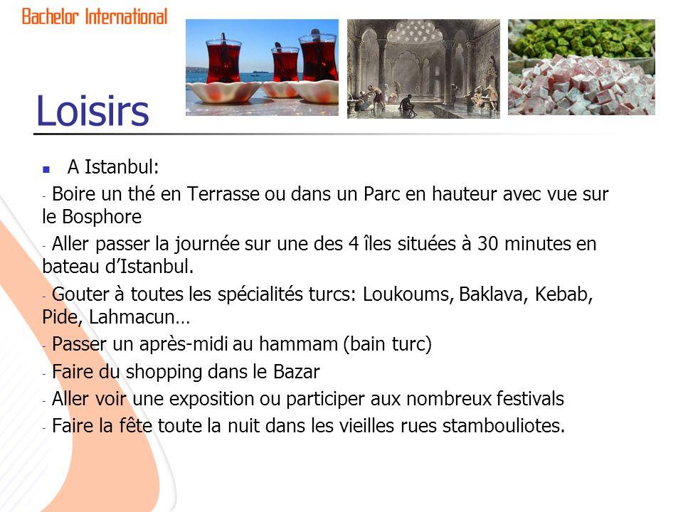 Loisirs A Istanbul: Boire un thé en Terrasse ou dans un Parc en hauteur avec vue sur le Bosphore.