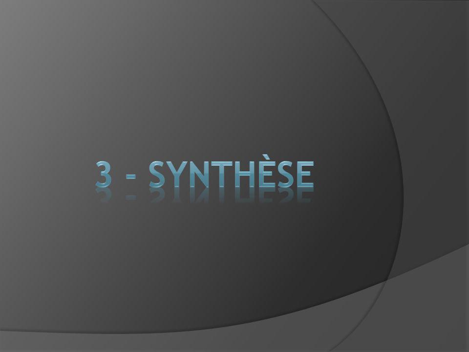 3 - SYNTHÈSE