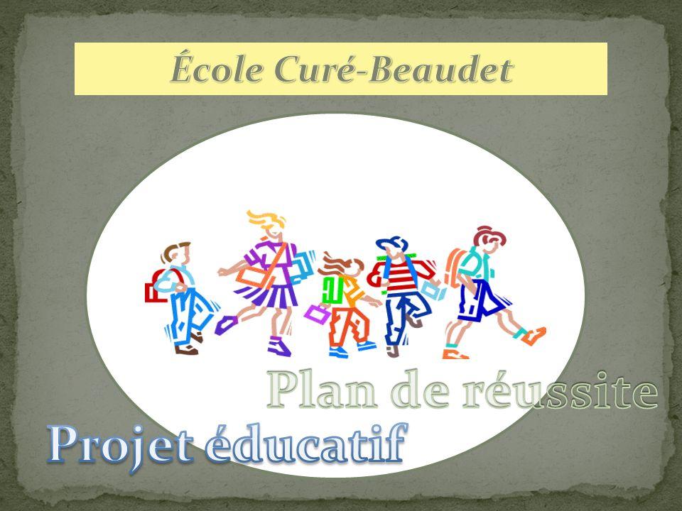 Plan de réussite Projet éducatif