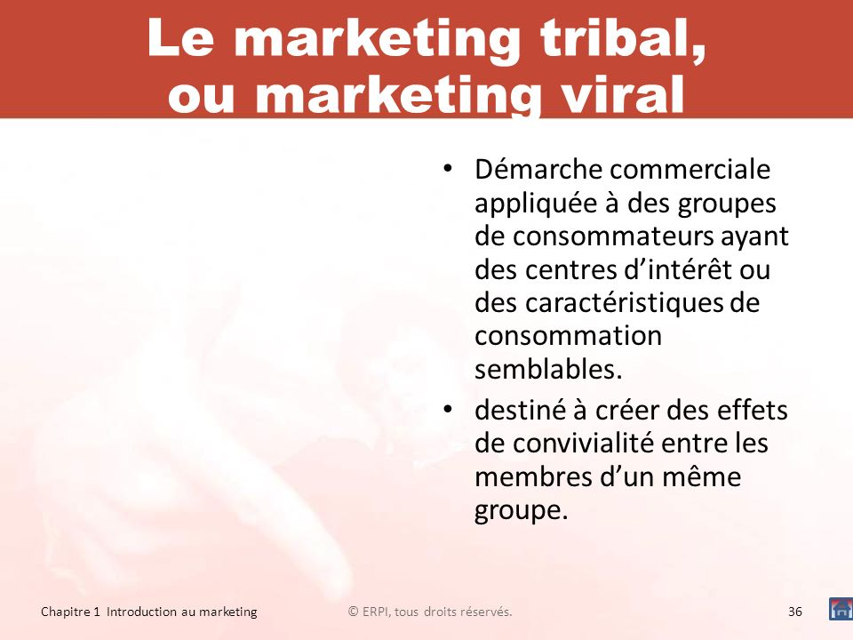 Le marketing tribal, ou marketing viral