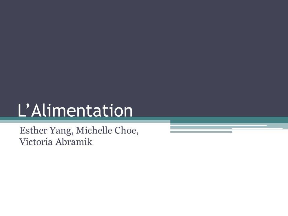 Esther Yang, Michelle Choe, Victoria Abramik