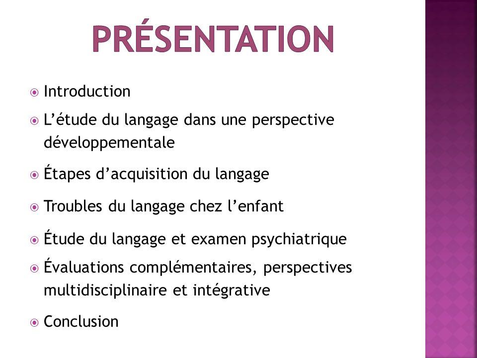 présentation Introduction