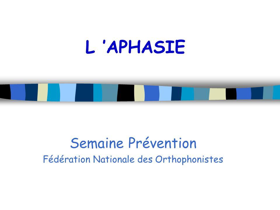 Semaine Prévention Fédération Nationale des Orthophonistes