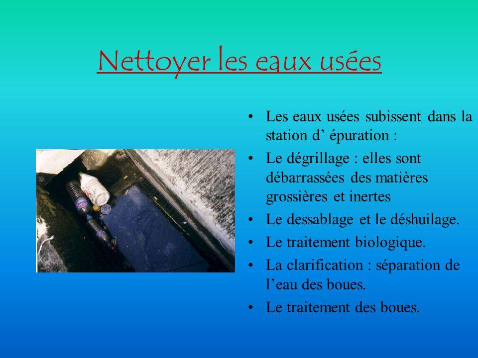 Nettoyer les eaux usées