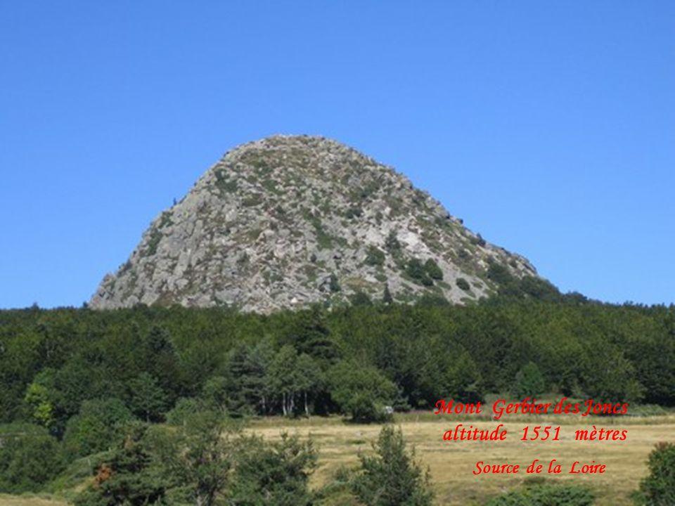 Mont Gerbier des Joncs altitude 1551 mètres Source de la Loire