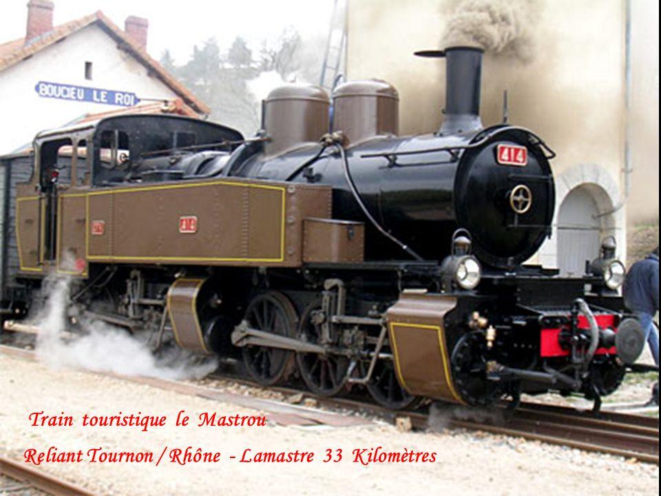 Train touristique le Mastrou