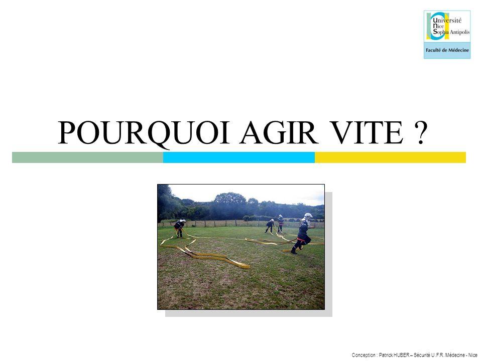 POURQUOI AGIR VITE