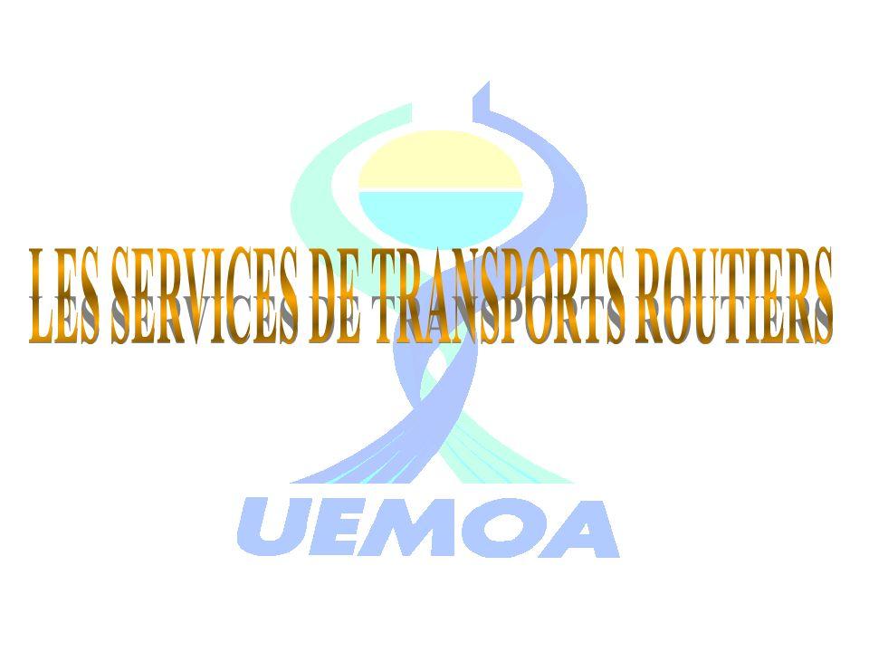 LES SERVICES DE TRANSPORTS ROUTIERS