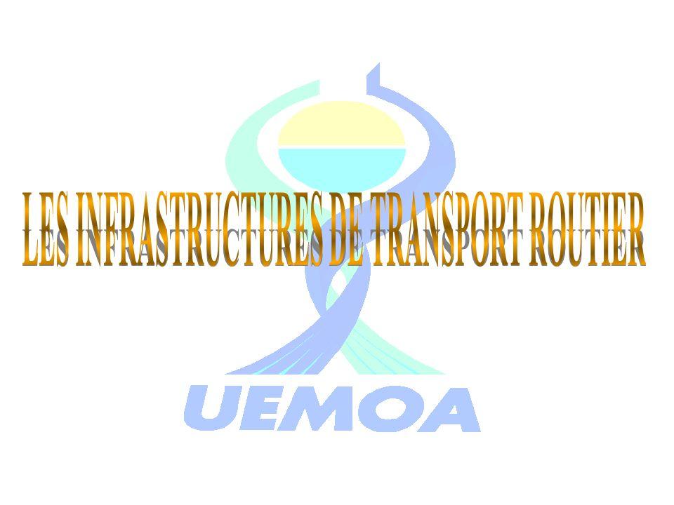 LES INFRASTRUCTURES DE TRANSPORT ROUTIER