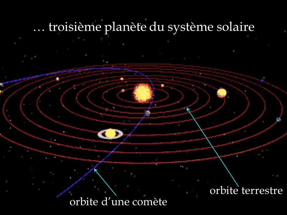 … troisième planète du système solaire