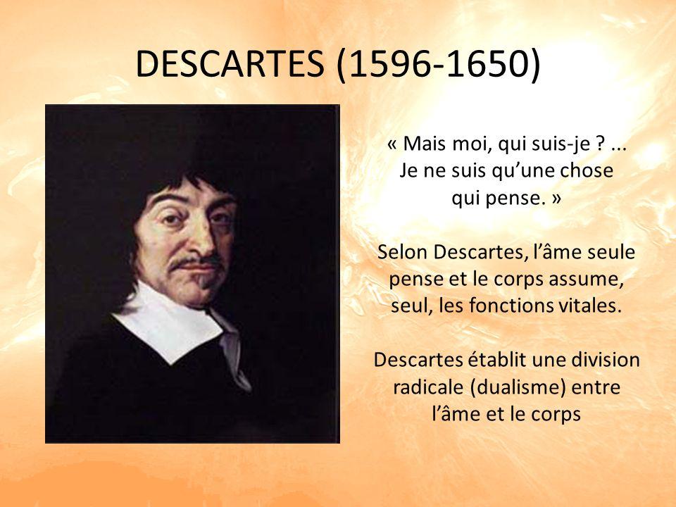 DESCARTES (1596-1650) « Mais moi, qui suis-je ...