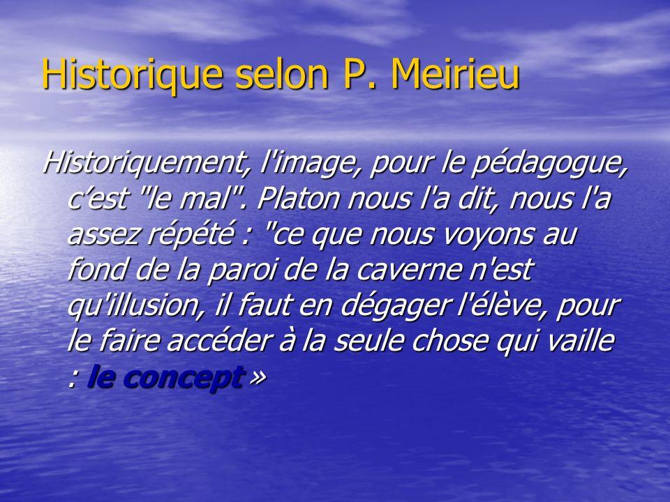 Historique selon P. Meirieu